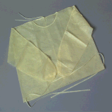 Steriles Lokalisierungs-Wegwerfkleid, geduldiges mit Gummizug chirurgisches Kleid