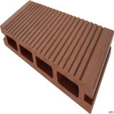 Revestimento composto plástico de madeira de bloqueio impermeável do Decking ao ar livre impermeável de WPC