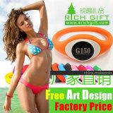 Wristband de encargo del silicón del verde del fabricante de la fábrica con los conjuntos impresos de la insignia