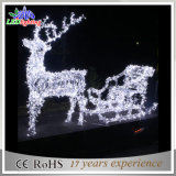 Holiday Customized Outdoor Laser Decoração de Natal LED Reindeer Light