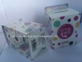 Изготовленный на заказ ясная коробка пластичный упаковывать печатание PP/PVC/Pet косметическая