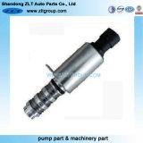 El motor de la electroválvula de la distribución variable Vvt en la válvula de control de aceite.
