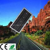 Luz solar do diodo emissor de luz do jardim de Lightful da instalação fácil com o certificado IP65