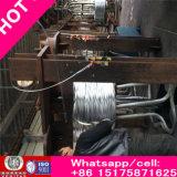 Fil d'acier Q195 galvanisé par zinc riche lumineux du fil Manufactur