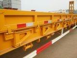Semi Aanhangwagen van het Bed van Shengrun de Lage met tri-As
