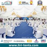 Tente d'hospitalité de mariage d'envergure d'espace libre de capacité de personnes de PVC 1000 d'aluminium
