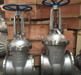 ANSI tamanho grande de aço carbono Wcb Válvula gaveta Válvula Industrial