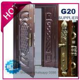 2017 China Metal Exterior de qualidade superior da porta de segurança de aço (EF-S133)