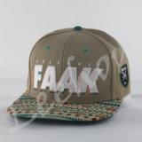 3D Kappen van Snapback van het Honkbal van de Sport van het Borduurwerk