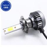 Coches de alta potencia 30W H7 Faro de luz LED para Moto