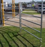 Горячий DIP оцинкованных крупного рогатого скота Ограждения панели ограды фермы