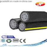 cable triple de Urd del conductor 600V