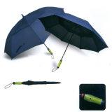 صنع وفقا لطلب الزّبون [دووبل لر] سليكوون مقبض سيّارة مفتوح مستقيمة لعبة غولف مظلة