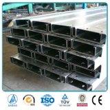 Canal de acero galvanizado del puntal de la correa del material de construcción