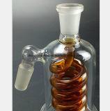 Bernsteinfarbiges Schrauben-Filtration-Wasser-Rohr Verbinder-der Glasschlauchleitung