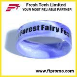 Heißer verkaufenkundenspezifischer gedruckter SilikonWristband