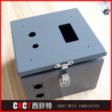 Caixa elétrica elétrica de chapa sob medida de alta qualidade