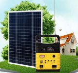 100% de la Energía Solar Casa Solar de Alta Potencia Kits de iluminación con radio FM
