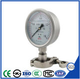 100mm Al Stainless Steel Manometer Presses Gauge with Factory Sales