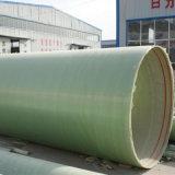 管FRPの巻上げの管に通すGRPのガラス繊維ケーブル