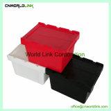Mover Company Using la casella mobile all'ingrosso solida di plastica con il coperchio