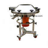 Setaccio di vibrazione della glassa rotonda smontabile per di ceramica liquido