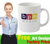 Tasse en céramique promotionnelle avec design de logo client