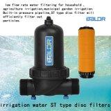 Bdf032st de LandbouwFiltratie van het Water van de Filter van de Schijf van het Water van de Industrie van de Tuin van de Druppelbevloeiing