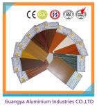 profils en bois d'aluminium du grain 3D