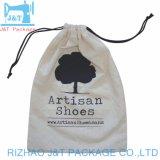 Оптовая торговля Ruiding переработанных Custom печать небольших органического хлопка специальный мешочек