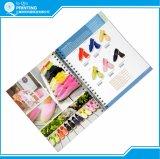O folheto do compartimento do livro do catálogo imprimiu em China