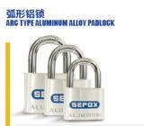 Aluminimumの合金のカラーによってめっきされるパッドロックPin