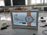 indicador transparente de 47inch LCD que anuncia a máquina