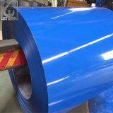 La couleur galvanisée enduite d'une première couche de peinture de PPGI Ral 8004 a enduit la bobine en acier