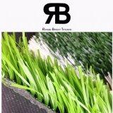 campo de la calidad de 40-50m m que ajardina la hierba artificial del sintético del césped del balompié de la alfombra del césped