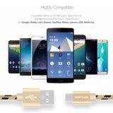 Charge rapide micro USB pour câble de données de téléphone mobile Samsung téléphone Android