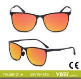 Neue Entwurfs-Form-Frauen-Sonnenbrillen (121-C) mit Cer UV400
