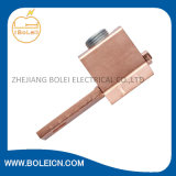 Connecteur de fixation de la bride de cuivre rouge Embouchures de terre Colliers