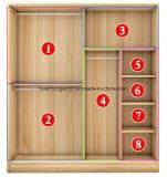 خشبيّة لوح أثاث لازم جديدة بسيطة خزانة ثوب مقصورة