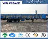 remorque de camion de lit plat de 40FT avec 3 Alxes