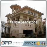 インテリア・デザインおよび外側のフロアーリングの壁のための自然な石造りの床タイルのベージュ砂岩