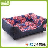 Denim Casa mascota, perro de moda de la cama (HN-pH460)
