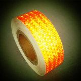 La couleur orange adhésif PVC Honeycomb Bandes réfléchissantes pour la sécurité