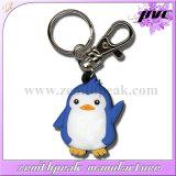 昇進のギフトのカスタムかわいいペンギンPVC Keychain