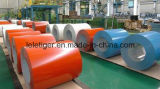 Bobina galvanizada prepintada / PPGI / Acero recubierto de color