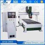 Nuova macchina automatica di CNC di asse del router 4 di CNC del cambiamento dello strumento