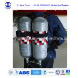 Doppio respiratore dell'aria di Scba del cilindro con gli entrambi cilindro di ricambio