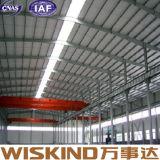 Estructura de acero prefabricada larga de Warehosue del diseño industrial del palmo