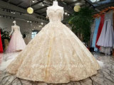 Novo Design Aoliwieya Champage/ Branco vestido de casamento