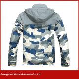 顧客用方法スポーツ(J183)の人のための安い印刷のカムフラージュのジャケット
